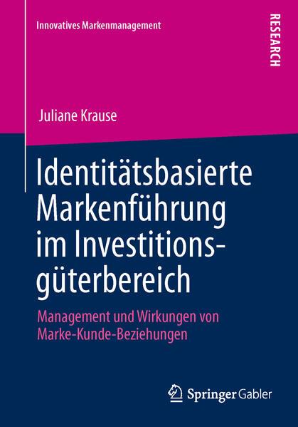 Identitätsbasierte Markenführung im Investitionsgüterbereich - Coverbild