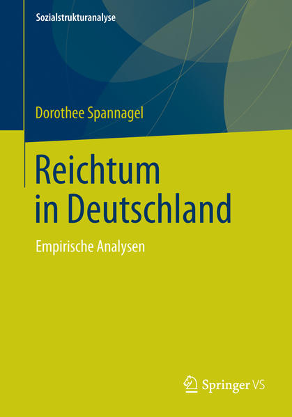 Reichtum in Deutschland - Coverbild