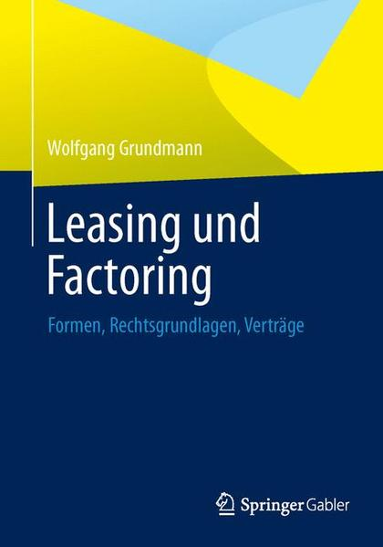 Leasing und Factoring - Coverbild