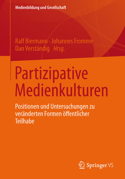 Partizipative Medienkulturen - Coverbild