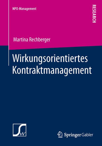 Wirkungsorientiertes Kontraktmanagement - Coverbild