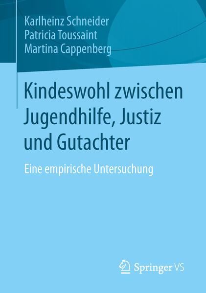 Kindeswohl zwischen Jugendhilfe, Justiz und Gutachter - Coverbild