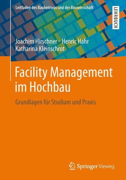 Facility Management im Hochbau - Coverbild