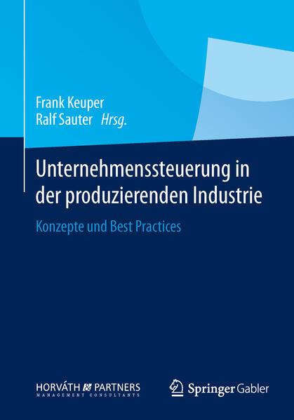 Unternehmenssteuerung in der produzierenden Industrie - Coverbild