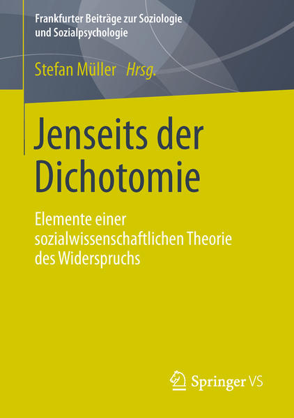 Jenseits der Dichotomie - Coverbild