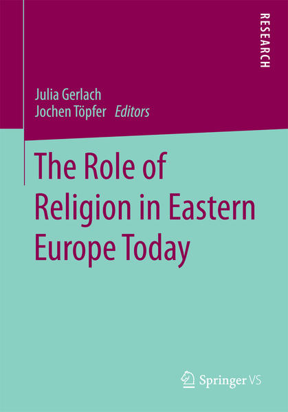 The Role of Religion in Eastern Europe Today - Coverbild