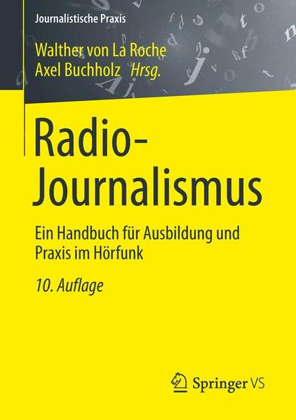 Radio-Journalismus - Coverbild