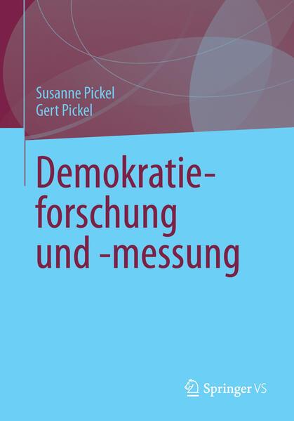 Demokratieforschung und -messung - Coverbild
