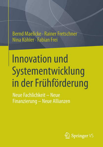 Innovation und Systementwicklung in der Frühförderung - Coverbild