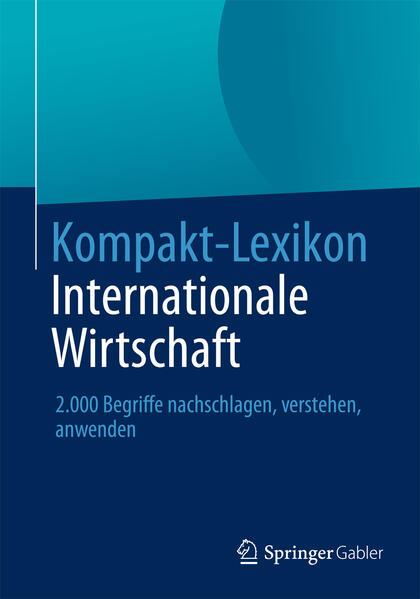 Kompakt-Lexikon Internationale Wirtschaft - Coverbild