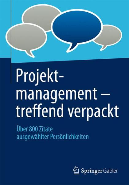 Projektmanagement - treffend verpackt - Coverbild