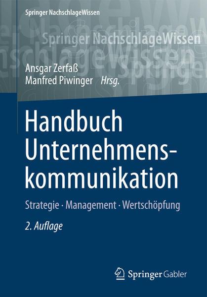 Handbuch Unternehmenskommunikation - Coverbild