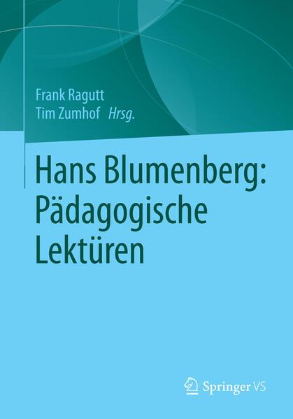 Hans Blumenberg: Pädagogische Lektüren - Coverbild