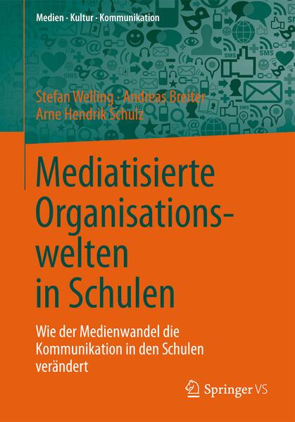 Mediatisierte Organisationswelten in Schulen - Coverbild