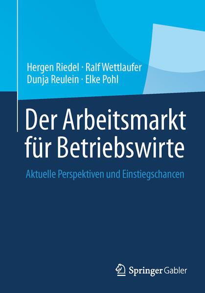 Der Arbeitsmarkt für Betriebswirte - Coverbild