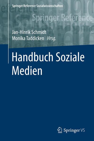 Handbuch Soziale Medien - Coverbild