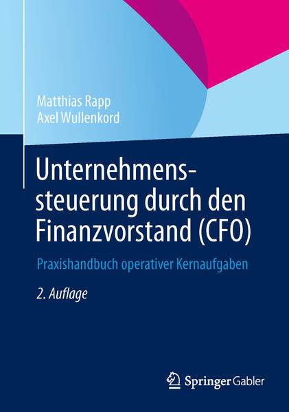 Unternehmenssteuerung durch den Finanzvorstand (CFO) - Coverbild