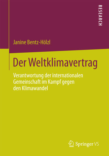 Der Weltklimavertrag - Coverbild