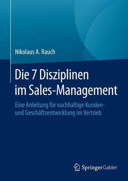 Die 7 Disziplinen im Sales-Management - Coverbild