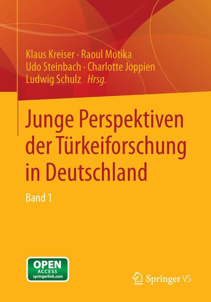 Junge Perspektiven der Türkeiforschung in Deutschland - Coverbild