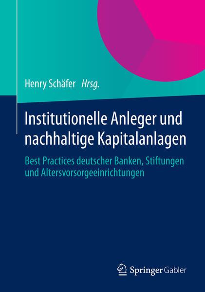 Institutionelle Anleger und nachhaltige Kapitalanlagen - Coverbild