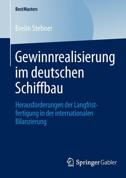 Gewinnrealisierung im deutschen Schiffbau - Coverbild