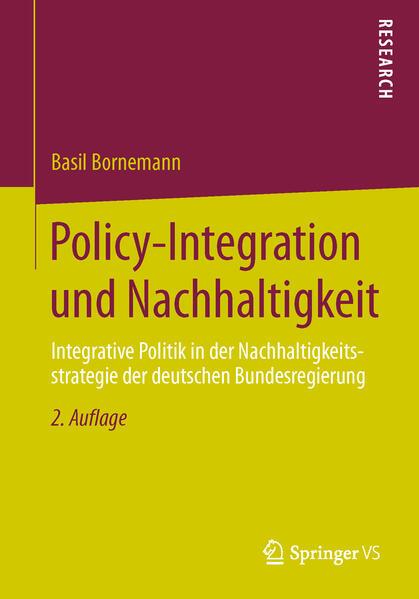 Policy-Integration und Nachhaltigkeit - Coverbild