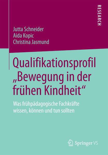 """Qualifikationsprofil """"Bewegung in der frühen Kindheit"""" - Coverbild"""