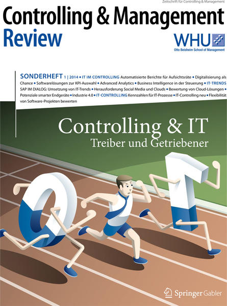 Controlling & Management Review Sonderheft 1-2014 - Coverbild
