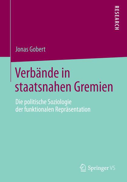 Verbände in staatsnahen Gremien - Coverbild