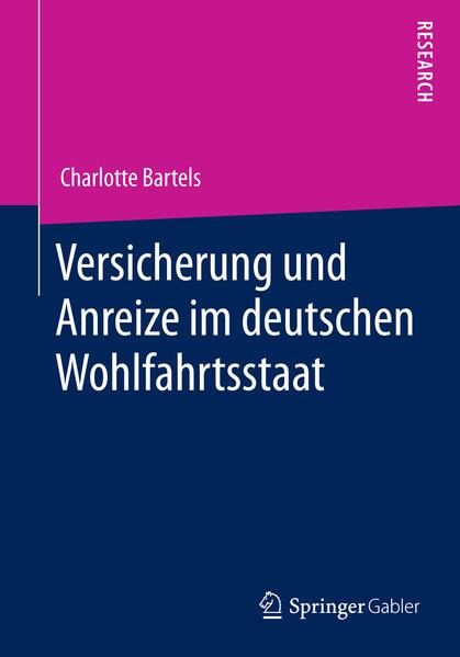 Versicherung und Anreize im deutschen Wohlfahrtsstaat - Coverbild
