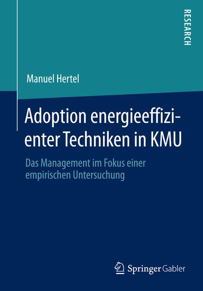 Adoption energieeffizienter Techniken in KMU - Coverbild