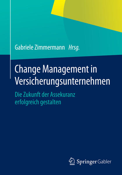 Change Management in Versicherungsunternehmen - Coverbild