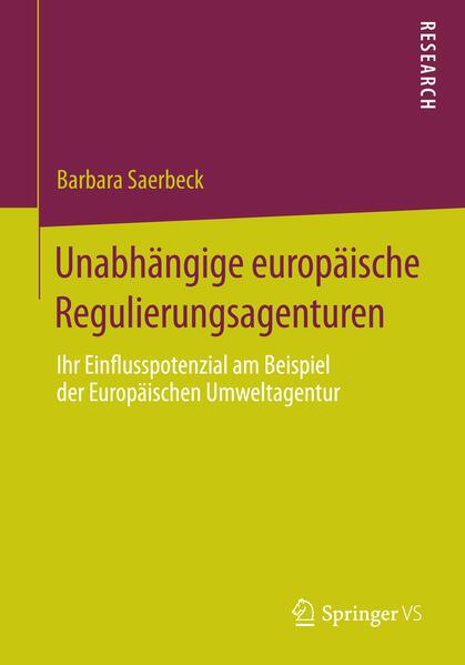 Unabhängige europäische Regulierungsagenturen - Coverbild