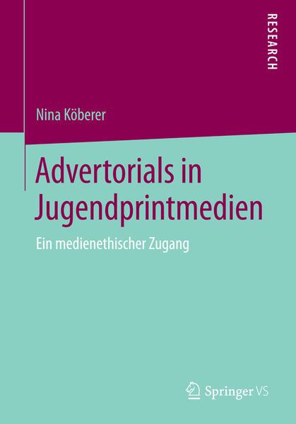 Advertorials in Jugendprintmedien PDF Kostenloser Download