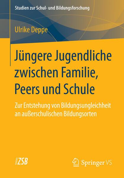 Jüngere Jugendliche zwischen Familie, Peers und Schule - Coverbild