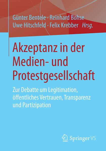 Akzeptanz in der Medien- und Protestgesellschaft - Coverbild