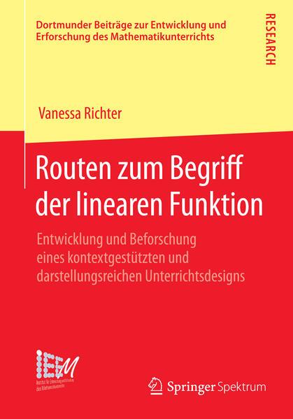 Routen zum Begriff der linearen Funktion - Coverbild