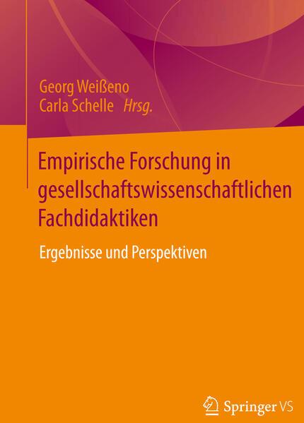 Empirische Forschung in gesellschaftswissenschaftlichen Fachdidaktiken - Coverbild