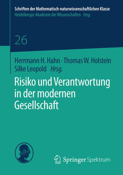 Risiko und Verantwortung in der modernen Gesellschaft - Coverbild