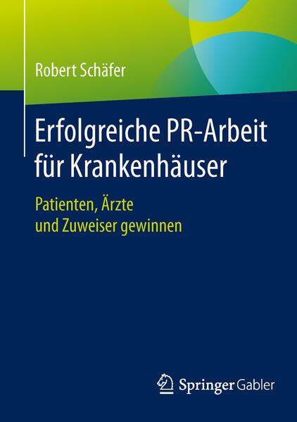 Erfolgreiche PR-Arbeit für Krankenhäuser - Coverbild