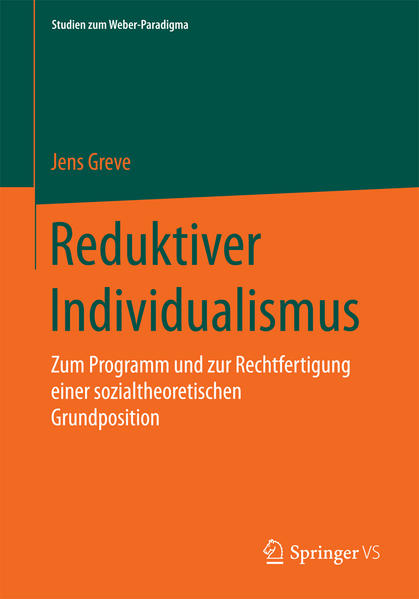 Reduktiver Individualismus - Coverbild