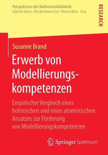 Erwerb von Modellierungskompetenzen - Coverbild