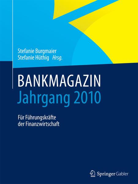 BANKMAGAZIN - Jahrgang 2010 - Coverbild