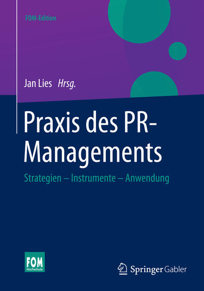 Praxis des PR-Managements - Coverbild
