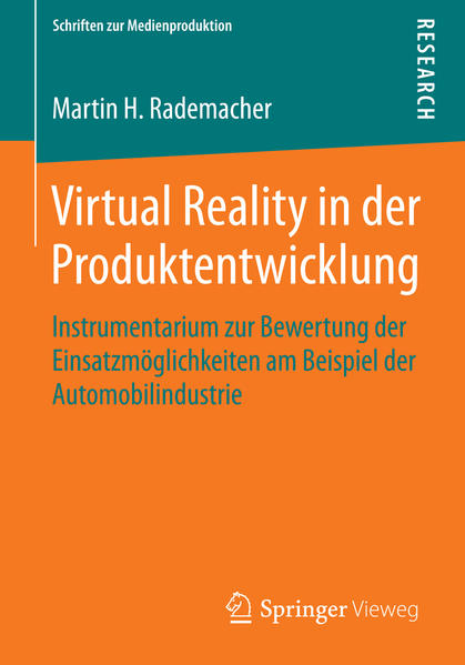 Virtual Reality in der Produktentwicklung - Coverbild