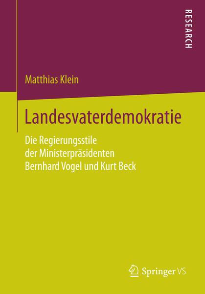 Landesvaterdemokratie - Coverbild