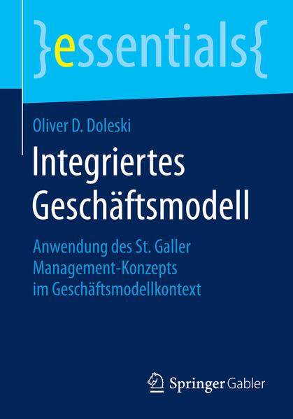 Integriertes Geschäftsmodell - Coverbild