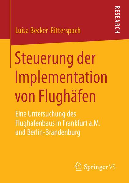Steuerung der Implementation von Flughäfen Epub Herunterladen