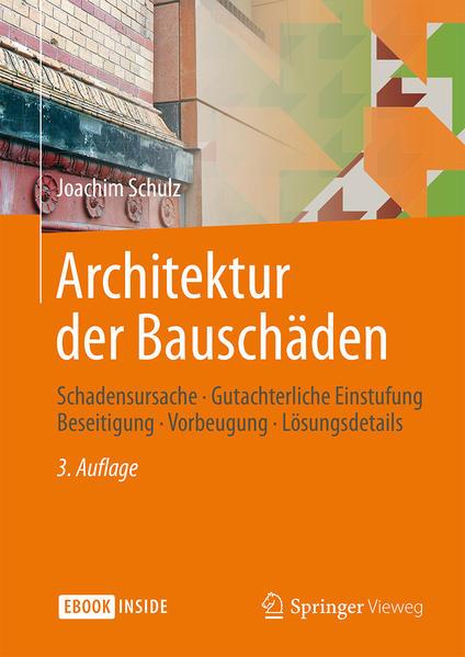 Architektur der Bauschäden - Coverbild
